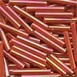 Mill Hill 92055 Red Rainbow Bugle Beads - 14mm Long