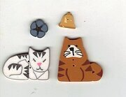 Official Crazy Cat Lady Button Pack