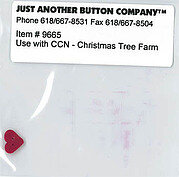 Button for Santa's Village 7 Christmas Tree Farm