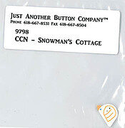 Frosty Forest 3 - Snowman's Cottage - Button