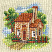 Cottage and Garden - Cross Stitch Kit