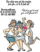 Flaunt It Set - Unmounted Rubber Stamp