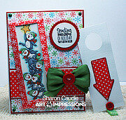 Penguin Stackers - Clear Stamps