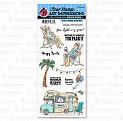 Happy Trails - Clear Stamp Set