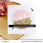 Modern Greetings - Clear Stamp