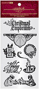 Graphic 45 Christmas Emporium 1 - Cling Rubber Stamp