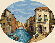 Venetian Morning - Cross Stitch Kit