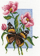 Admiral Flowers - Cross Stitch Kit
