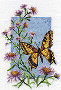 Swallowtail - Cross Stitch Kit