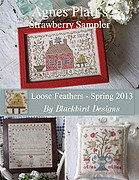 Agnes Platt's Strawberry Sampler - Loose Feathers