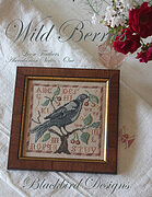 Wild Berries - Loose Feathers - Cross Stitch Pattern