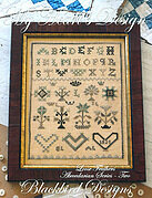 My Heart's Design - Loose Feathers - Cross Stitch Pattern