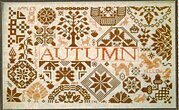 Quaker Seasons Autumn - Cross Stitch Pattern