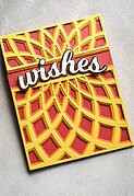 Wishes - Honey Script - Christmas Birch Press Craft Die