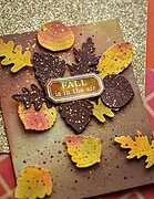 Pumpkin Lacework - Clear Stamp and Die