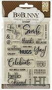 Friendly Greetings - Clear Stamp
