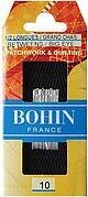 Bohin Big Eye Hand Quilting Needles - Size 10
