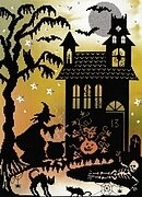 Enchanted Pumpkin House - Cross Stitch Kit