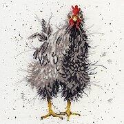 Bothy Threads Point De Croix Kit Par Hannah Dale-Festive Plumes