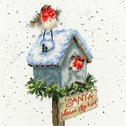 Santa Please Stop Here - Hannah Dale - Cross Stitch Kit