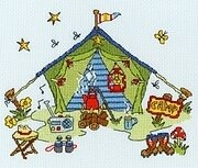 Sew Dinky Tent - Cross Stitch Kit