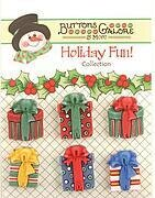 Holiday Fun Buttons - Christmas Presents