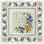 Vibrant Flowers - Ribbon Embroidery Kit