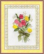 Tulips - Ribbon Embroidery Kit