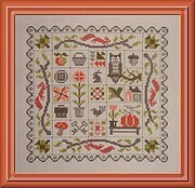 Patchwork Automne - Cross Stitch Pattern