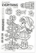 Sally's Christmas Friends - Christmas Clear Stamp