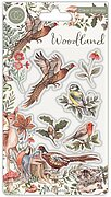 Woodland Birds - A5 Clear Stamp
