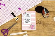 Your Kind Of Crazy - Clear Acrylic Quirky Stamp