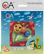 Caterpillar - Stamped Needlepoint Kit