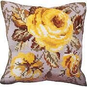 Rose Antique - Stamped Needlepoint Cushion Kit