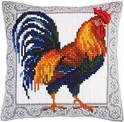 Gallic Rooster - Stamped Needlepoint Cushion Kit