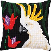 Night Jungle I - Stamped Needlepoint Cushion Kit