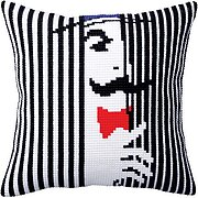 Spying On You - Stamped Needlepoint Cushion Kit