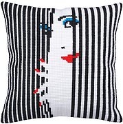 Spying On You 2 - Stamped Needlepoint Cushion Kit
