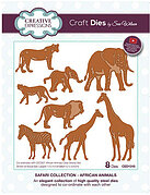 Safari Collection African Animals - Sue Wilson Craft Die