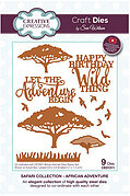 Safari Collection African Adventure - Sue Wilson Craft Die