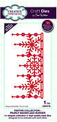 Snowflake Border - Winter Craft Die