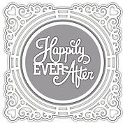 Sue Wilson Dies - Ornate Framed Happily Ever After Wedding