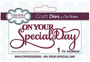 On Your Special Day - Craft Die