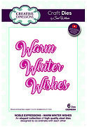 Winter Wishes - Christmas Craft Die