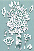 Sue Wilson Dies - Paper Cuts Collection Autumn Posy