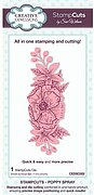 Poppy Spray - StampCuts Combo Die
