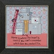 Where the Heart Is - Beaded Cross Stitch Kit