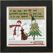 Spaces in Between - Beaded Cross Stitch Kit