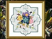 Dragonfly Lace Mandala, The - Cross Stitch Pattern
