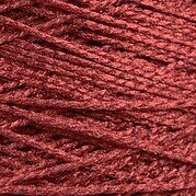 Needloft Craft Yarn 20 Yard Card - Burgundy